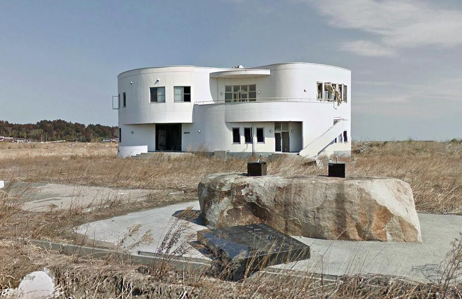 Google Maps A Japanese Nuclear Ghost Town