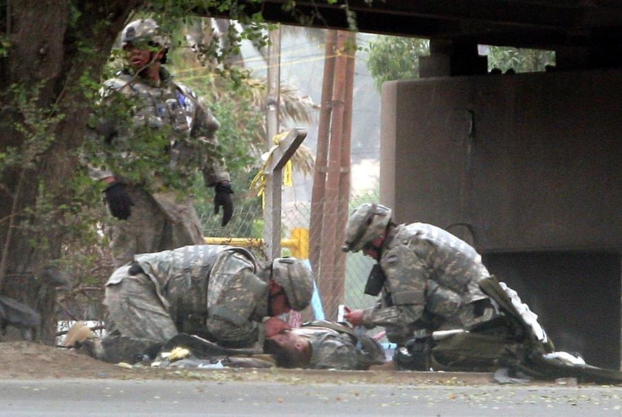 soldiers injured in iraq