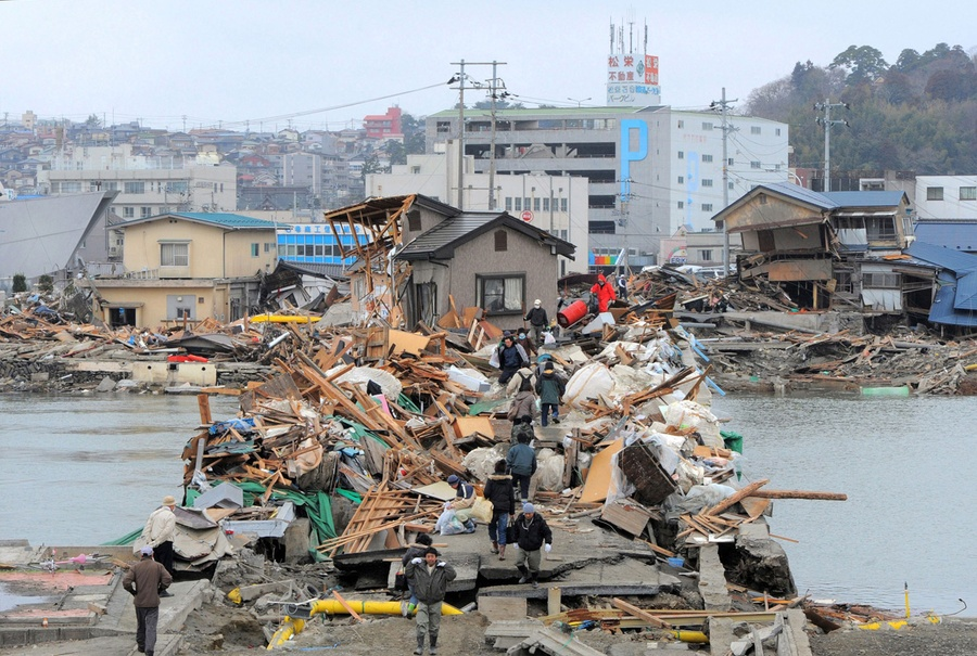 Japan Earthquake, 2 Years Later: Before and After - The Atlantic
