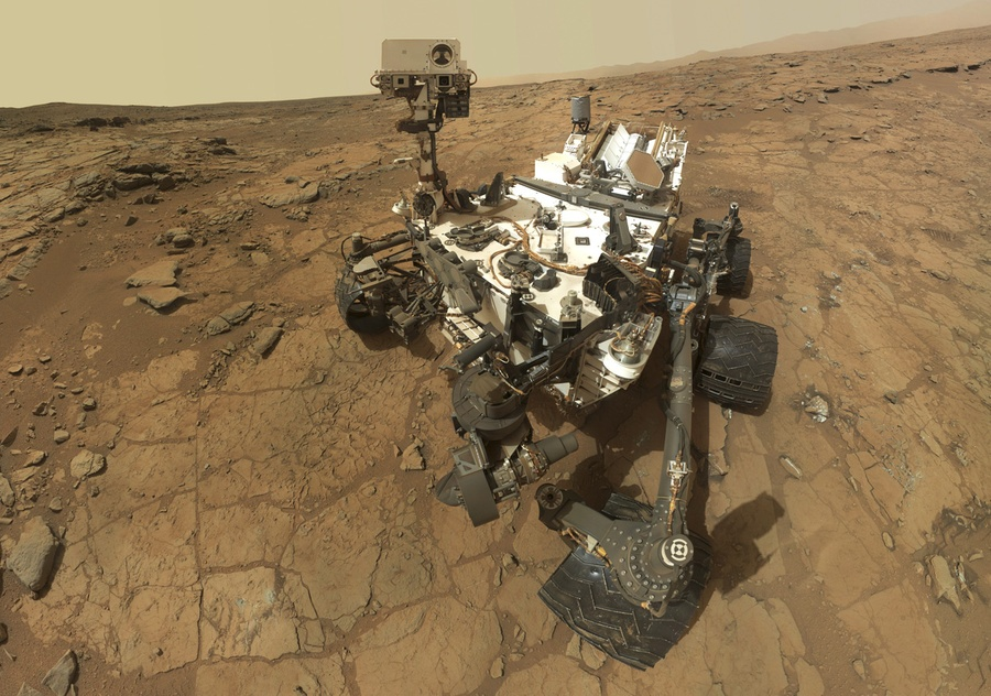 On Mars a self portrait of NASAu0027s rover