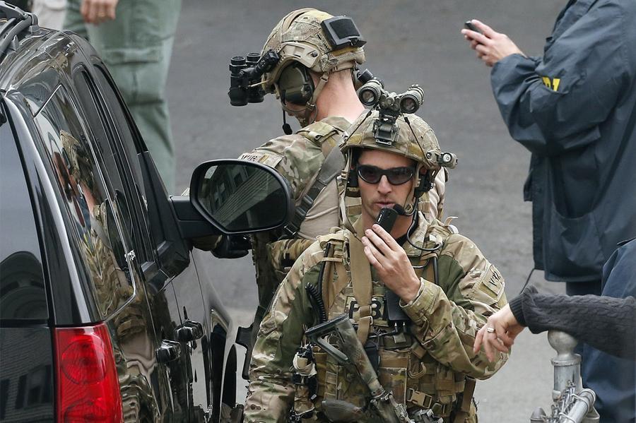 Manhunt Underway Boston Under Lockdown The Atlantic