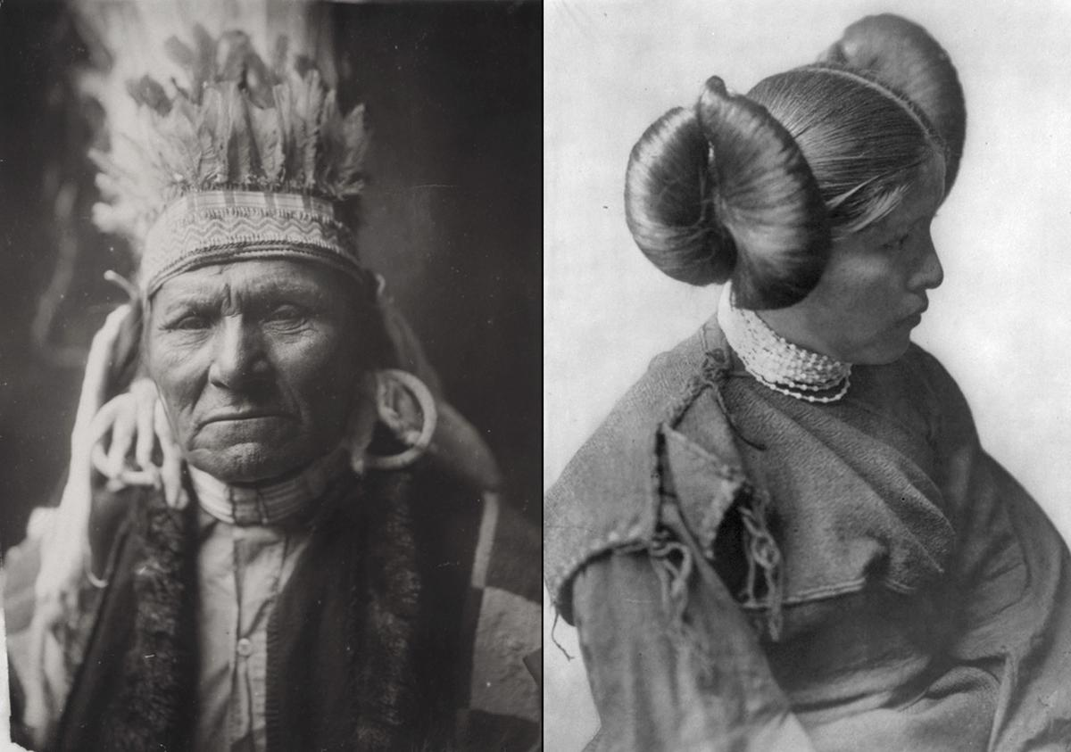 Native Americans Portraits From A Century Ago