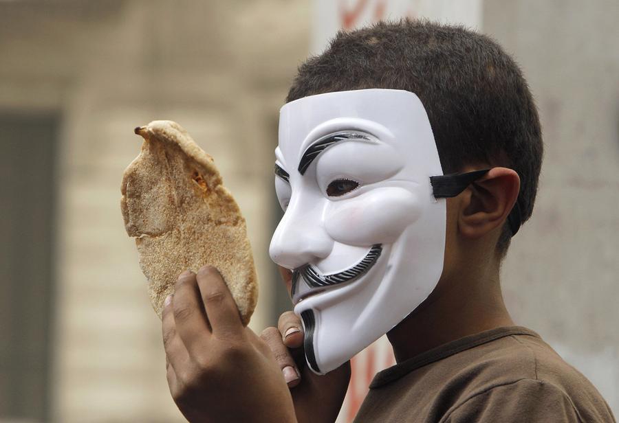 we wear the mask interpretation