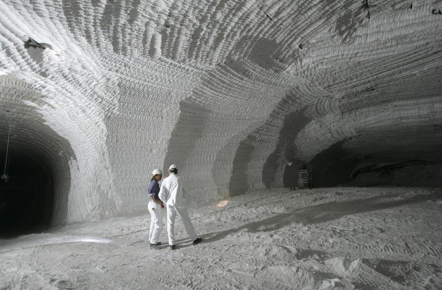 The Strange Beauty of Salt Mines The Atlantic