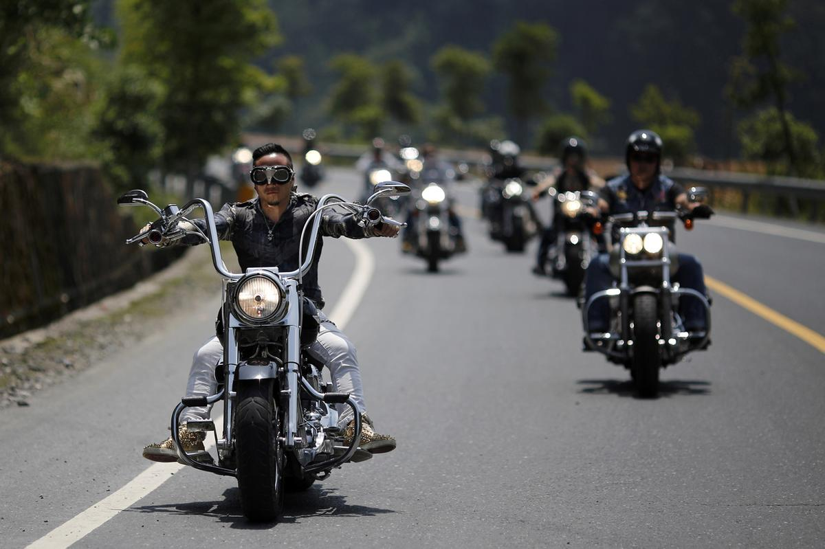 harley davidson national rally in china - the atlantic
