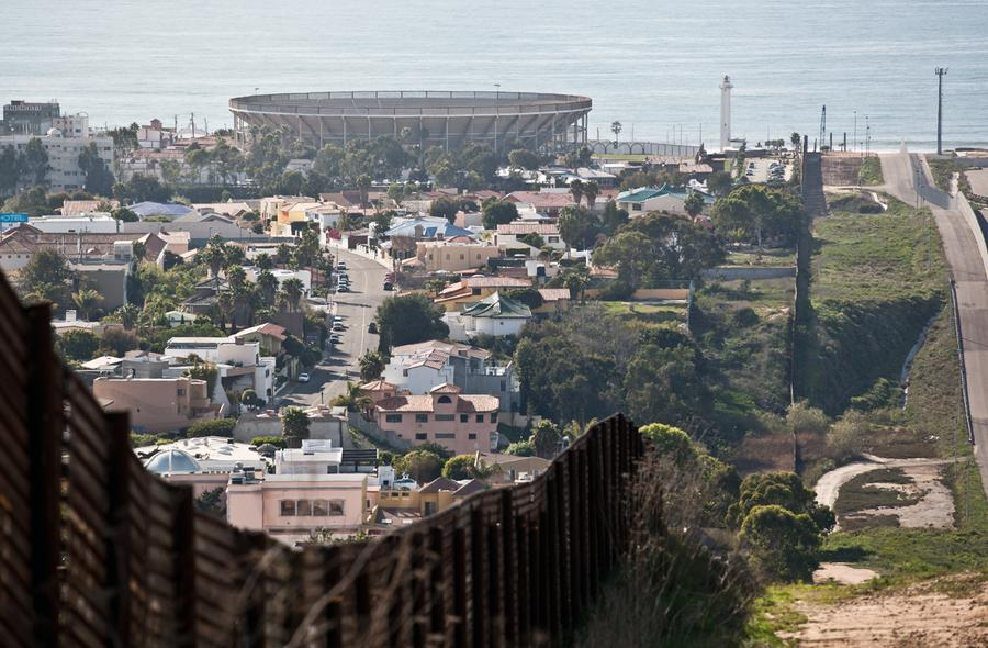 On the Border The Atlantic