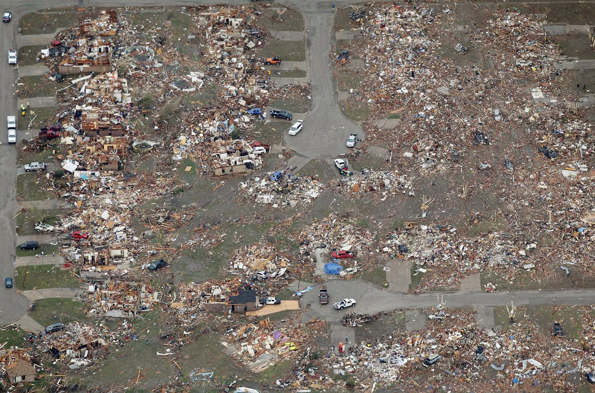 Picking up the Pieces After the Tornado in Moore, Oklahoma