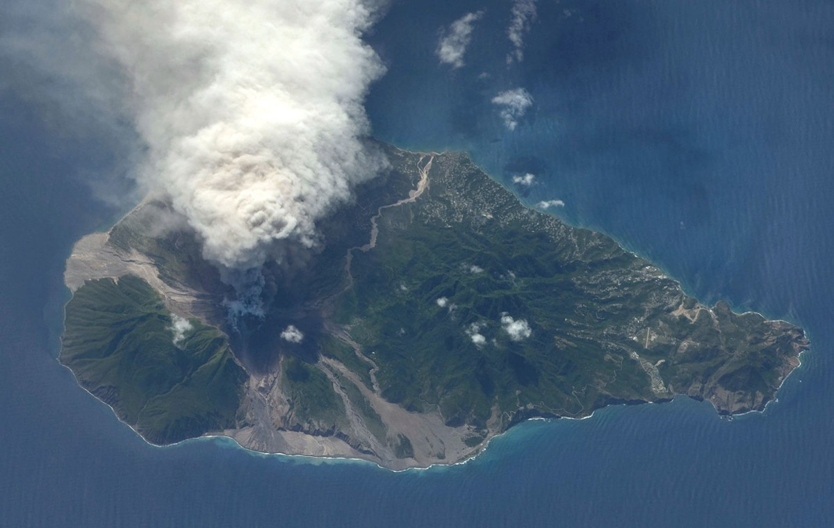 Montserrat: Living with a volcano