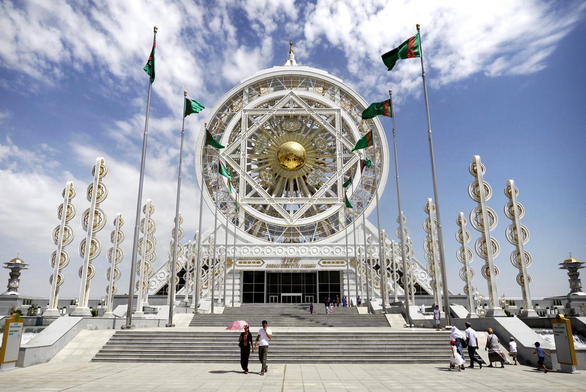 ashgabat city