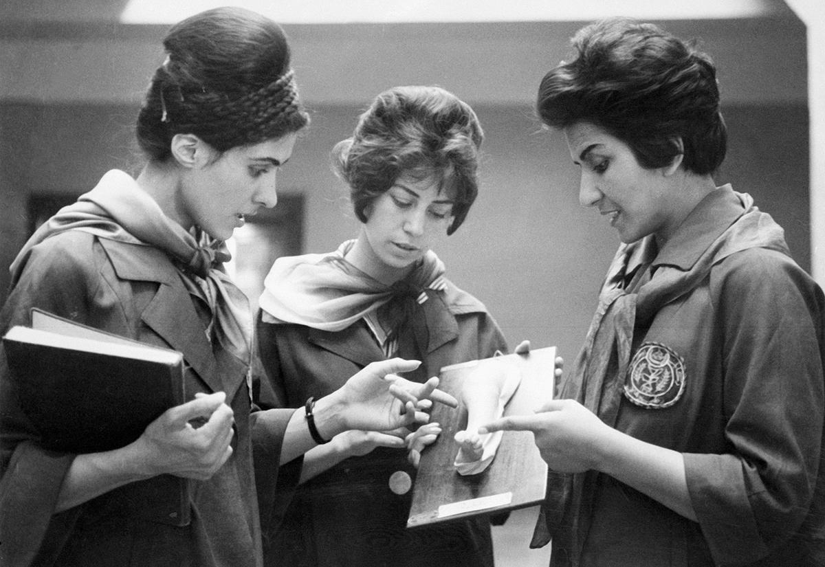 Medical Students Afghanistan, 1950s