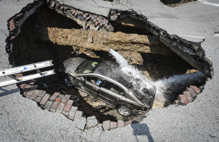 Sinkholes: When the Earth Opens Up - The Atlantic