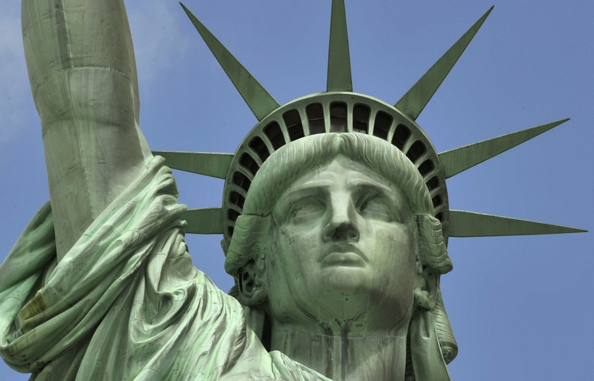 Satatue Of Liberty With Puartarican Flag Tattoo: The Statue Of Liberty: 127 Years At America's Gateway