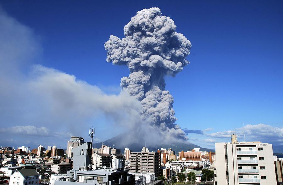 volcanic eruption « Fire Earth