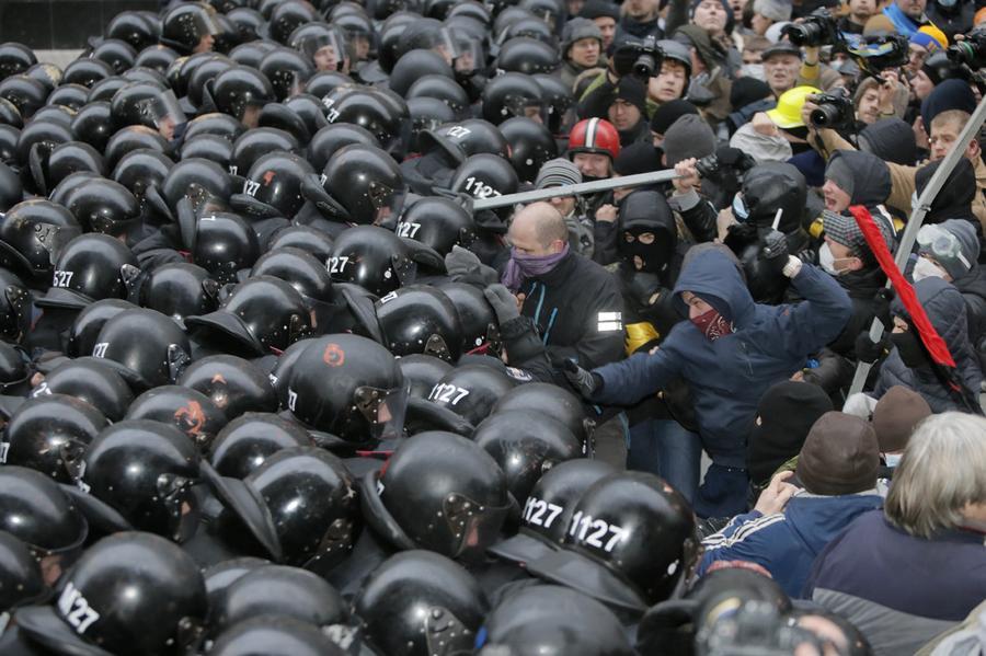 Days of Protest in Ukraine - T...