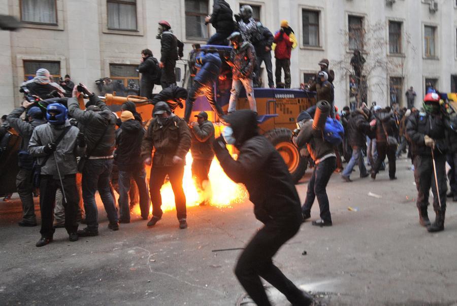 Days of Protest in Ukraine - The Atlantic