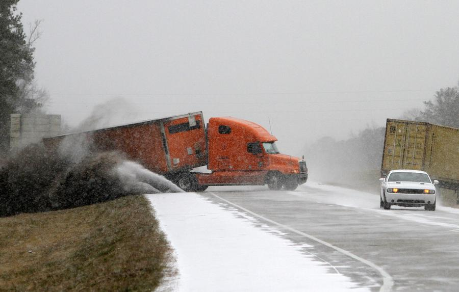 Snow Storms Hit the South - The Atlantic