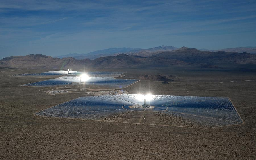 The Ivanpah Solar Electric Generating System The Atlantic