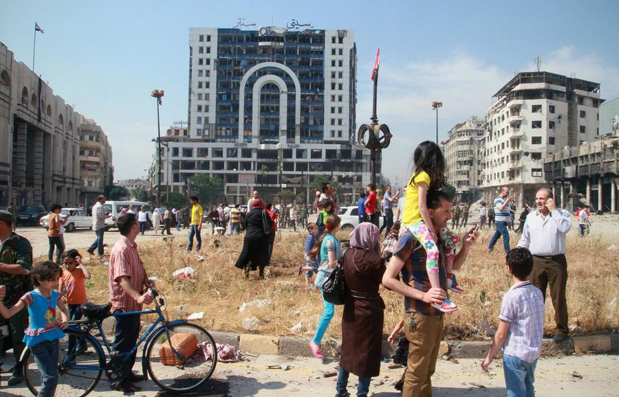 Syria S City Of Homs Shattered By War The Atlantic