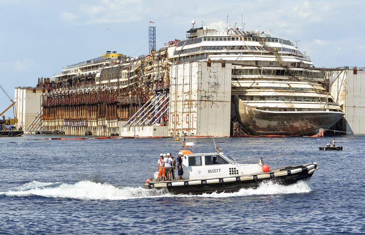 Final Voyage of the Costa Concordia - The Atlantic
