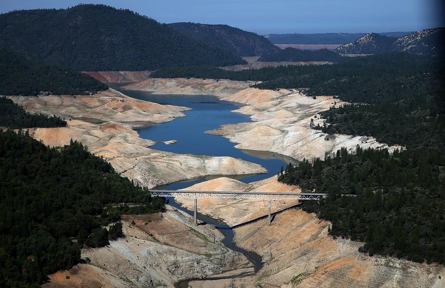 dramatic photos of california s historic drought the atlantic dramatic photos of california s historic drought