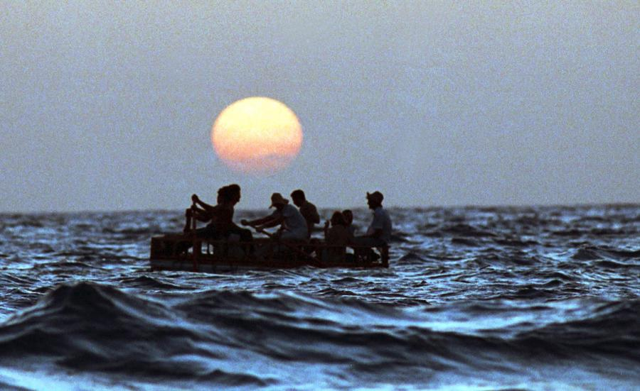 20 Years After the 1994 Cuban Raft Exodus - The Atlantic