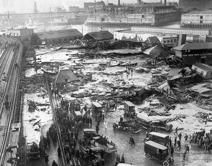 On This Day: The Boston Molasses Disaster Of 1919