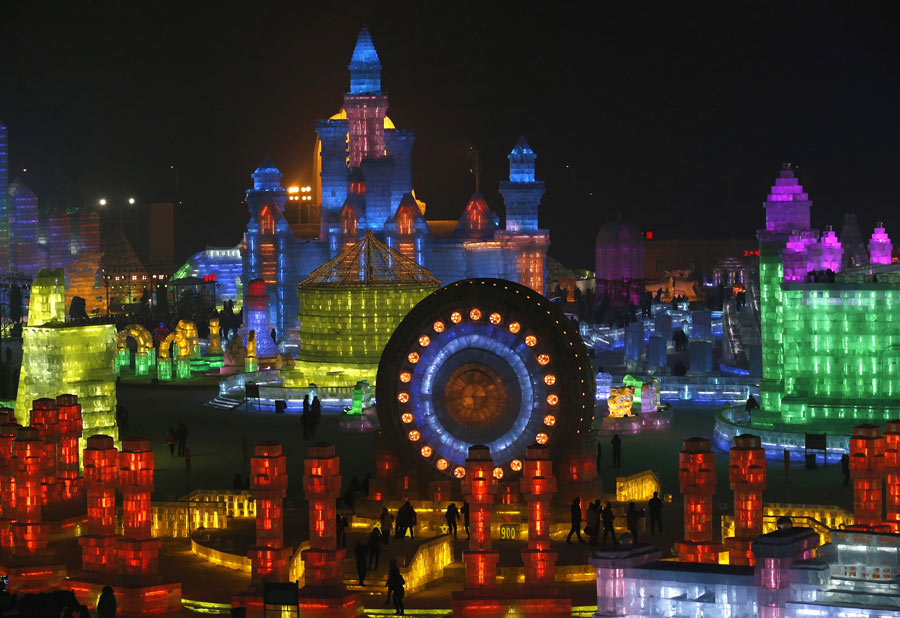 The 2017 Harbin Ice And Snow Festival