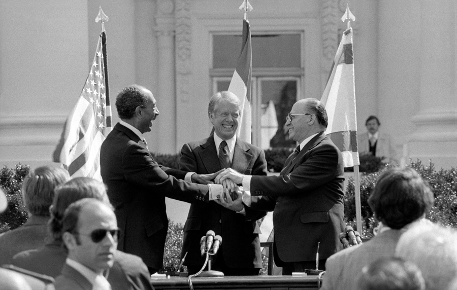 On This Day 36 Years Ago The Signing Of The Egypt Israel Peace
