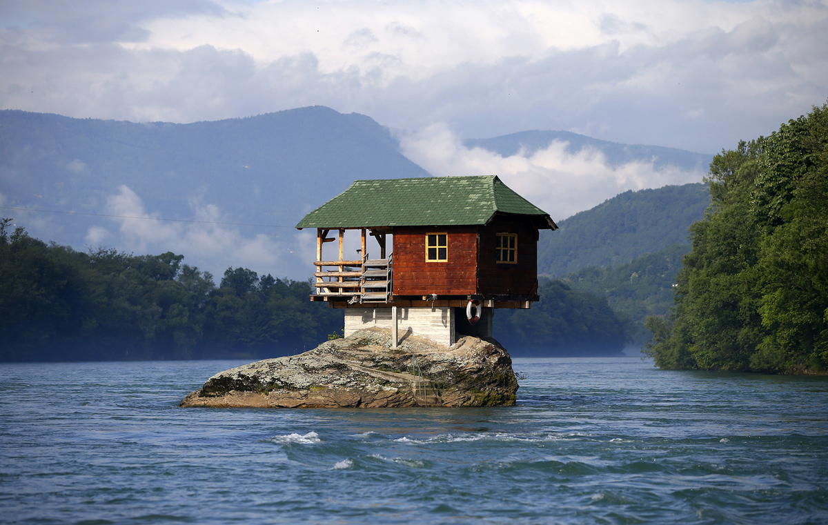 Unusual homes around the world the atlantic for Houses around the world
