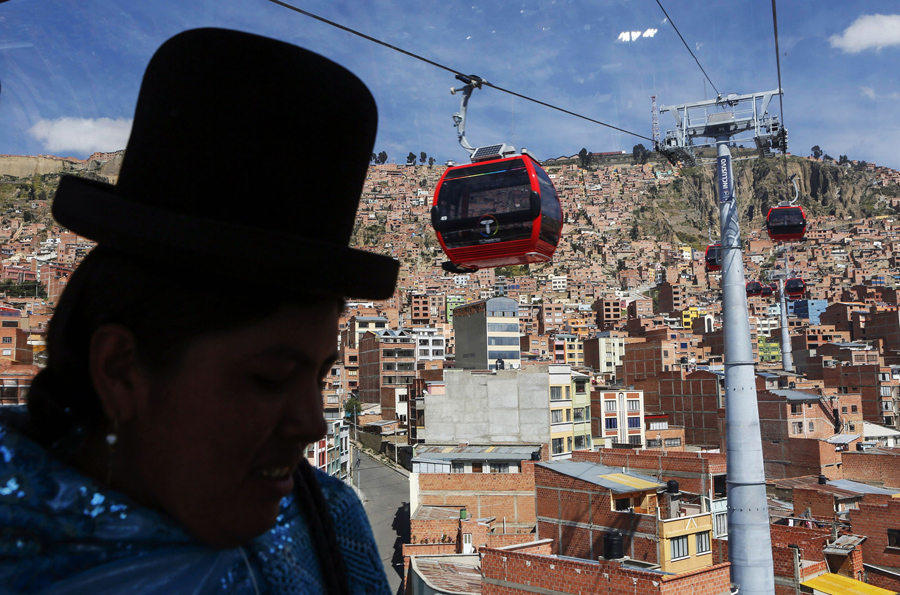 A Bolivian Subway in the Sky - The Atlantic