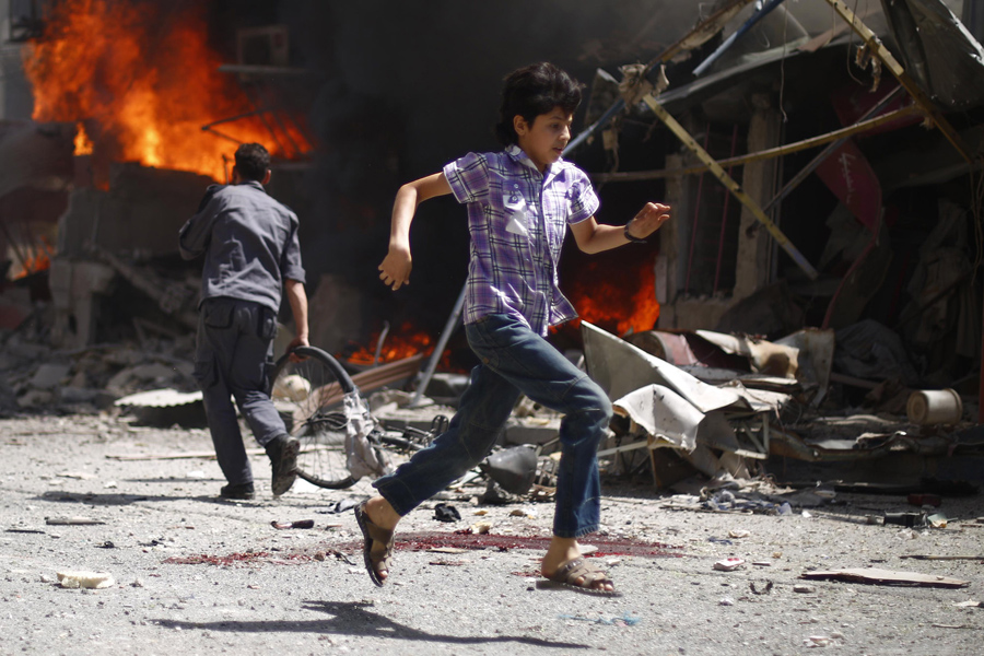 a report on the syrian youth crisis in the middle east