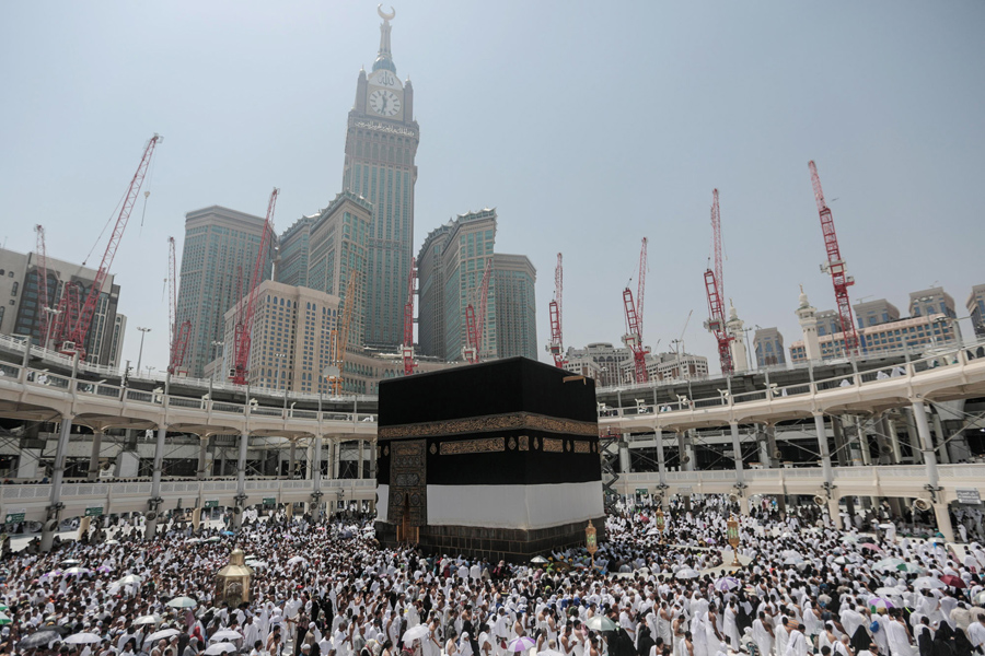 Mecca Then and Now, 126 Years of Growth - The Atlantic