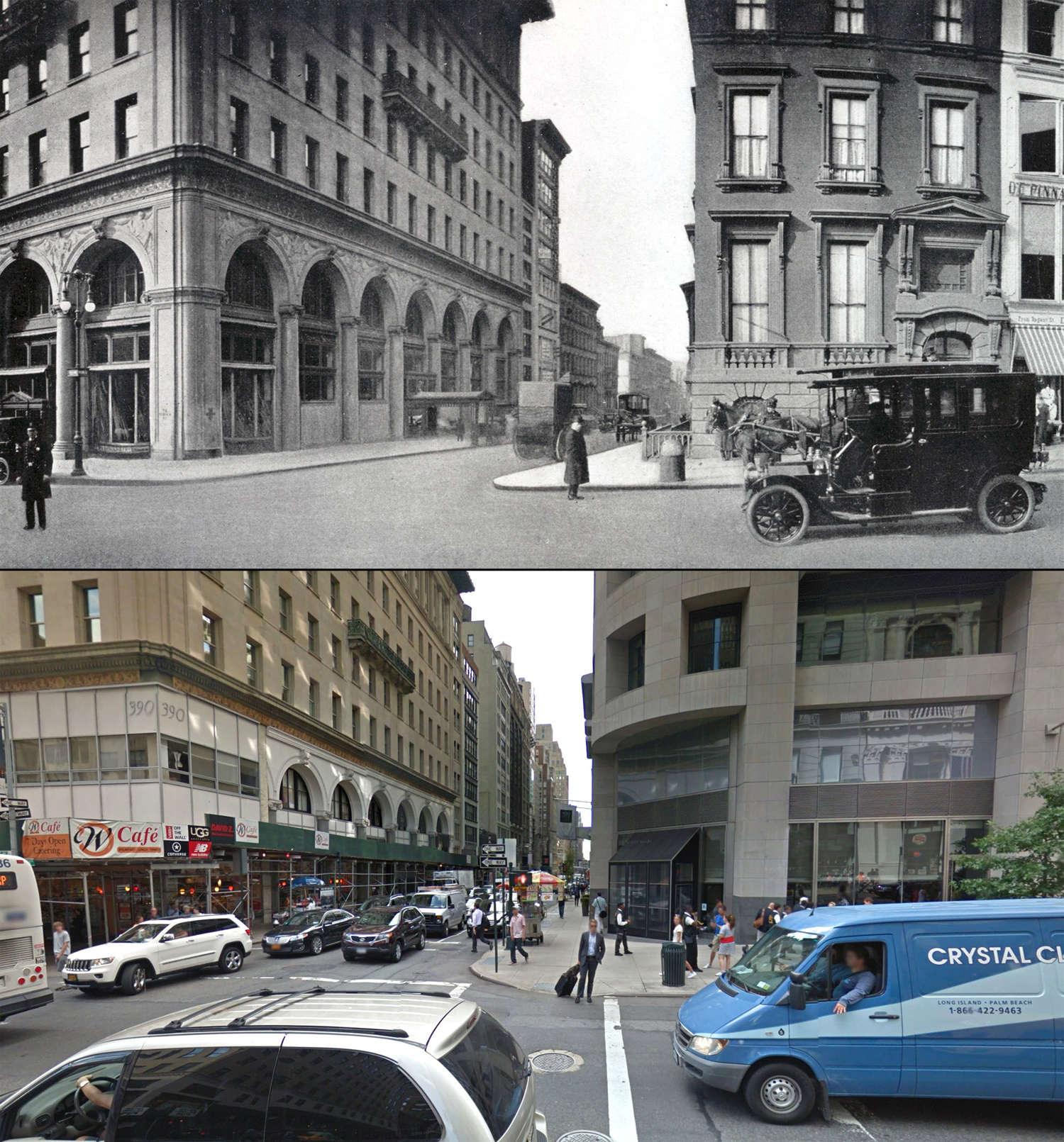 Fifth Avenue Then And Now A Century Of Streetviews In New York City The Atlantic