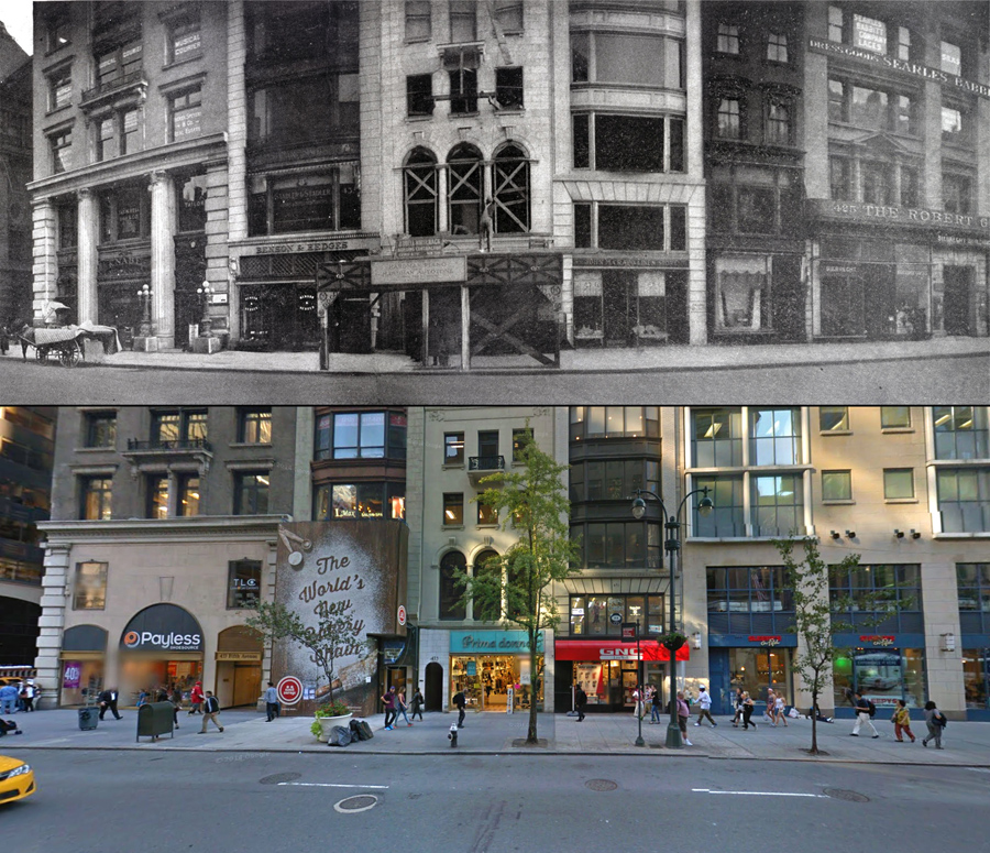 Fifth Avenue Then And Now A Century Of Streetviews In New