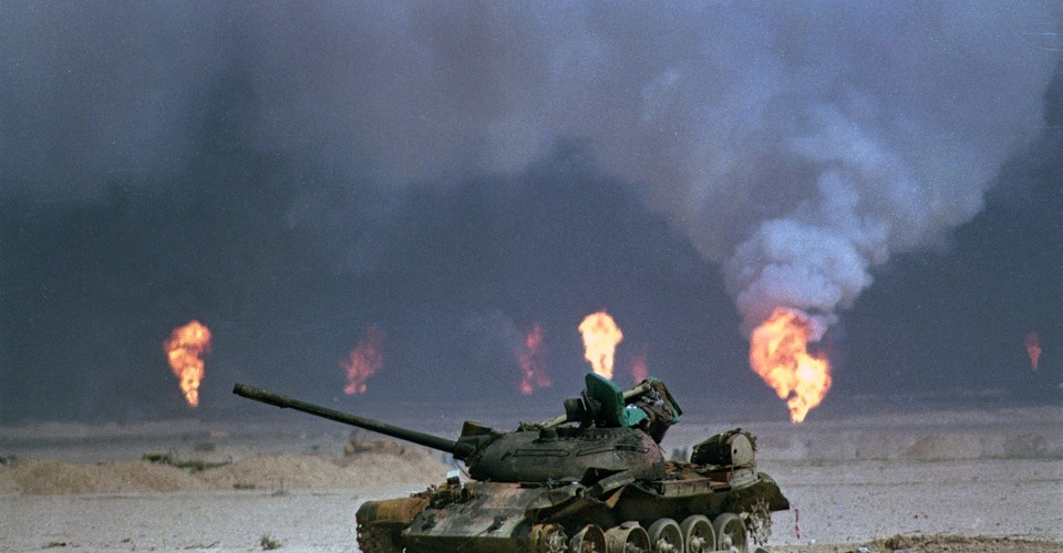 Operation Desert Storm 25 Years Since The First Gulf War The Atlantic