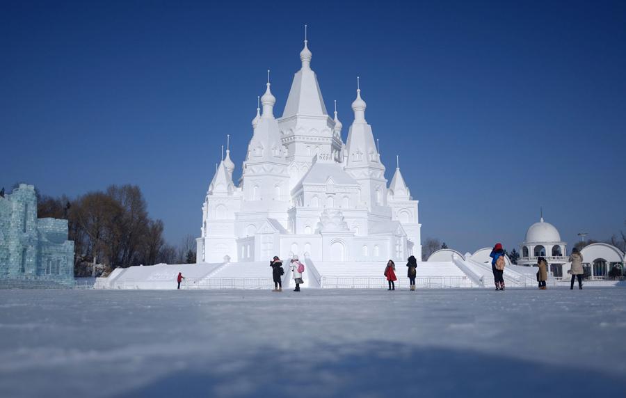 The 2016 Harbin Ice And Snow Festival The Atlantic
