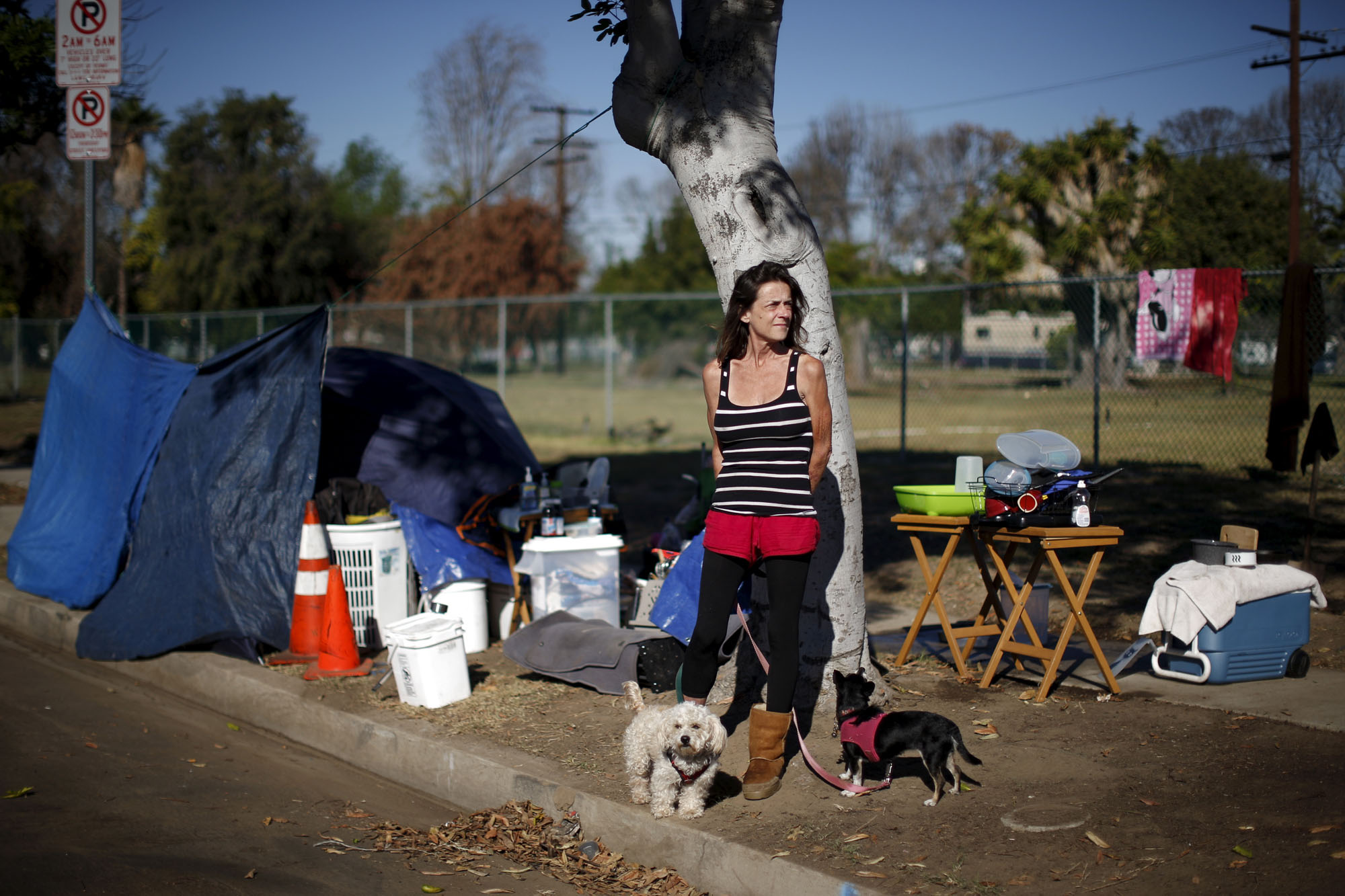 Young And Homeless In America >> America S Tent Cities For The Homeless The Atlantic