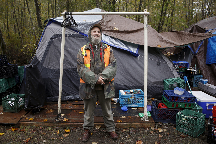 america�s tent cities for the homeless the atlantic