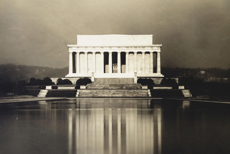 historic photos of the lincoln memorial - the atlantic