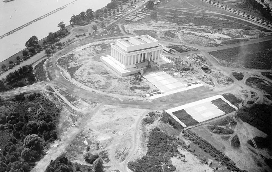 Historic Photos Of The Lincoln Memorial The Atlantic