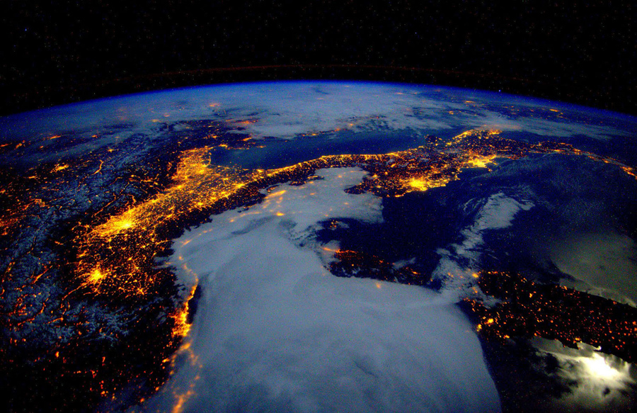 Images of earth from a year in space the atlantic publicscrutiny Image collections