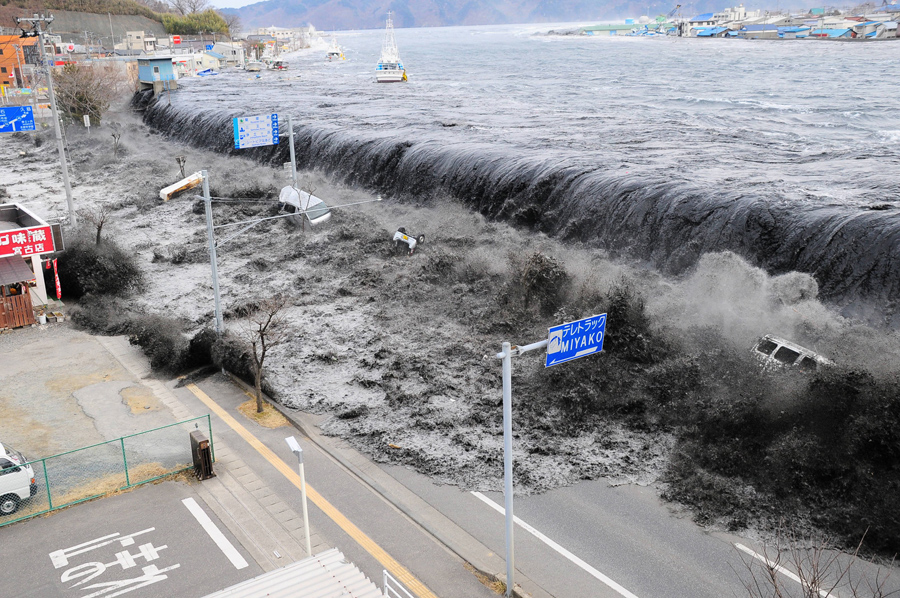 Image result for 2011 tsunami