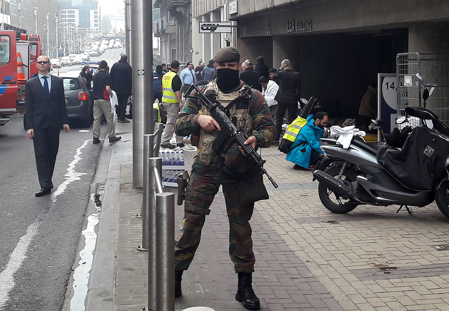 the issue of terrorism and fatal terrorist attack in brussels /6 single-issue terrorism annex right-wing terrorist attack in the netherlands and the first terrorist attack in (there was a near-fatal knife attack on a.