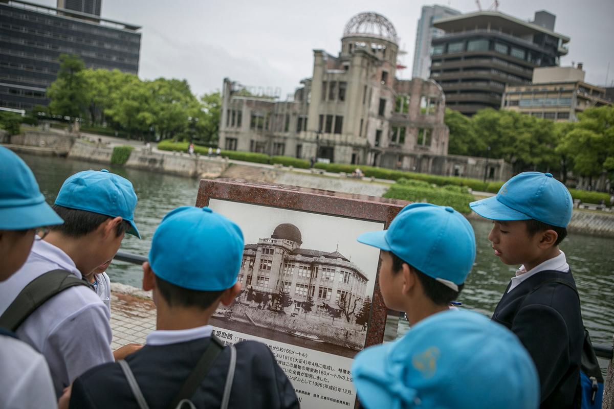 AP Japan A-Bomb Hiroshima Photo Essay