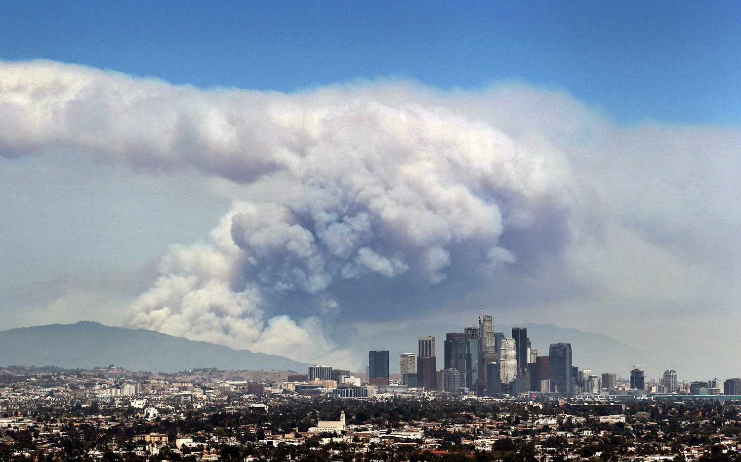 California Fires Near Los Angeles >> Photos Of Southern California S Wildfires The Atlantic