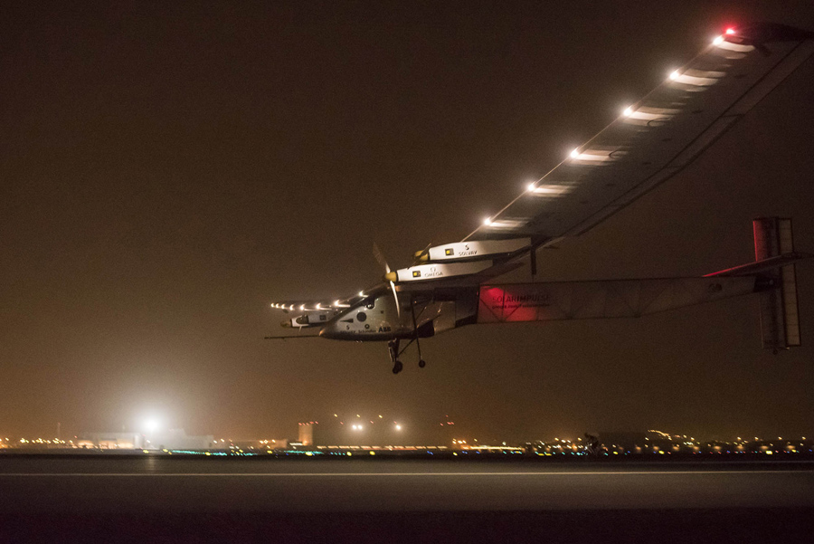 Flying Around the World in a Solar Powered Plane - The Atlantic