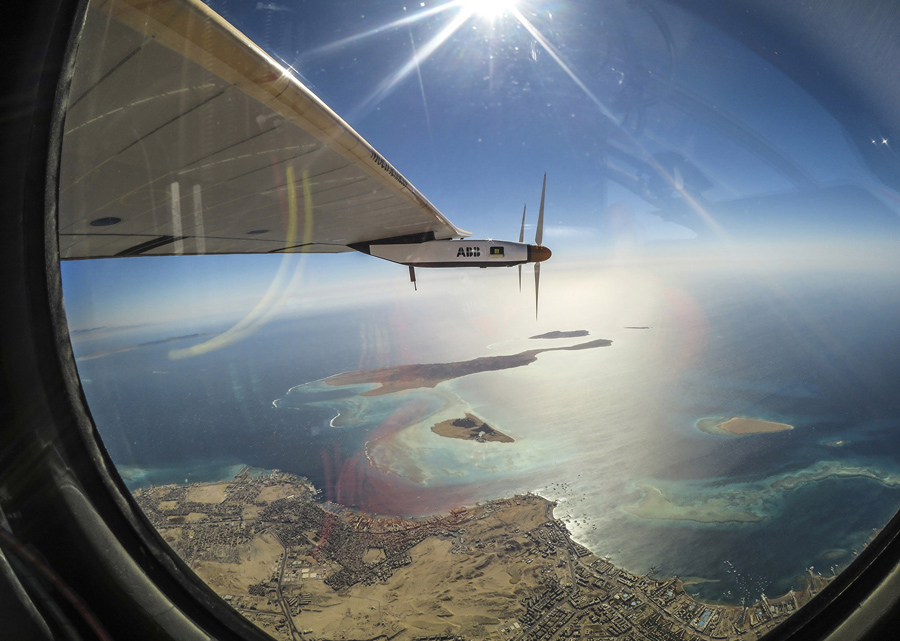 Flying Around The World In A Solar Powered Plane The Atlantic