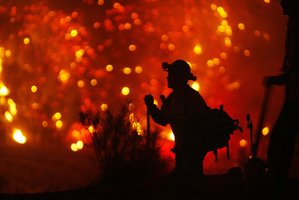 The Terrible Beauty of Californian Wildfires, as Seen by David McNew