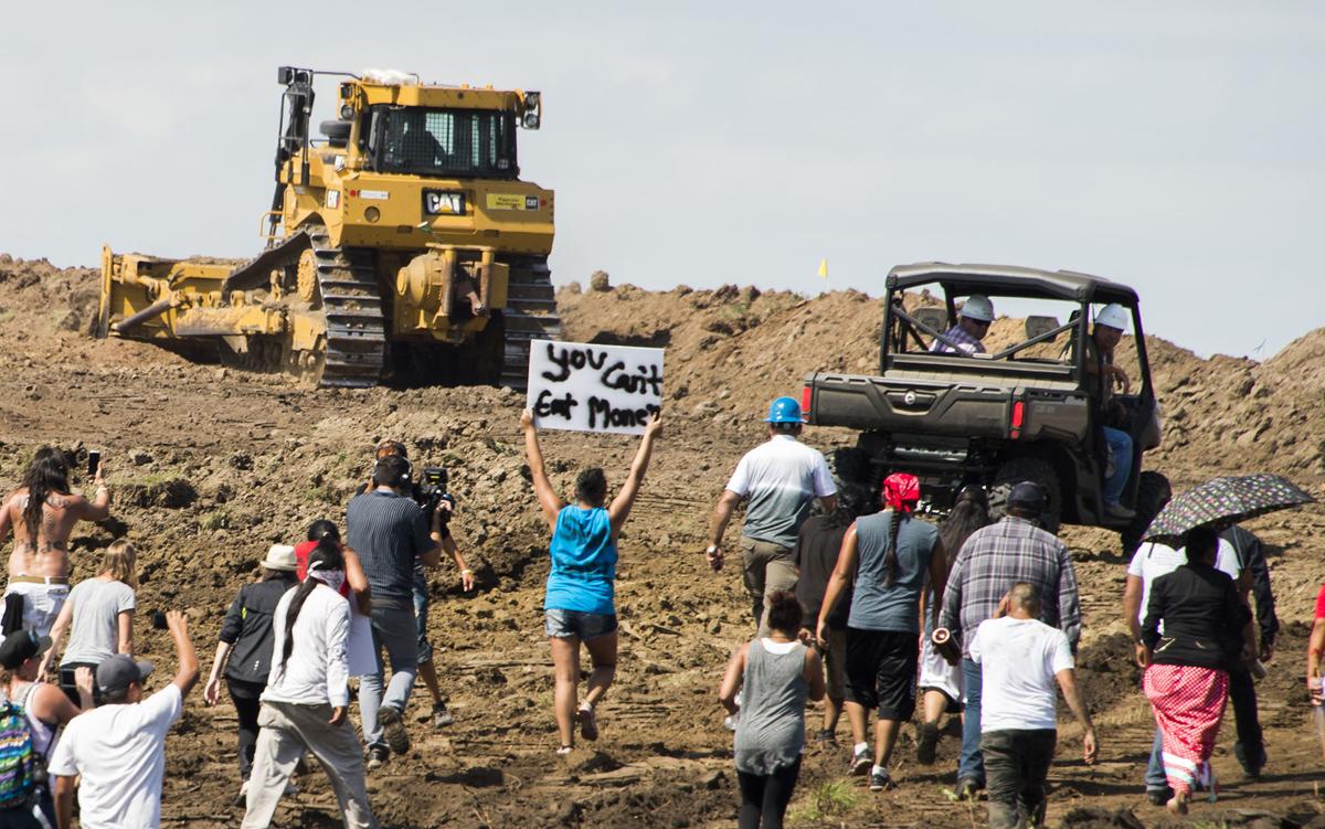 ABD: Dakota Boru Hattına Karşı Direniş Sürüyor – [Foto-Haber]