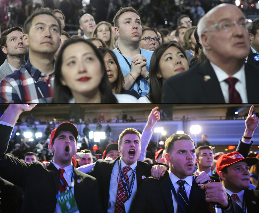 Emotional Highs and Lows From a Historic Election Night ...